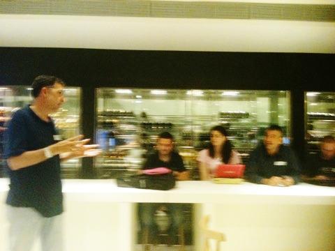 Juanmi Muñoz a l'inici de la sessió #Kfe04 #BCN