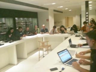 Participants de la sessió Kfe04 celebrada a Barcelona el dia 7 de juny de 2011